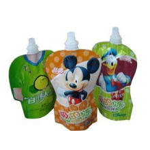 70 Microns - 150 Microns Spout Pouch Packaging Bags For Jel