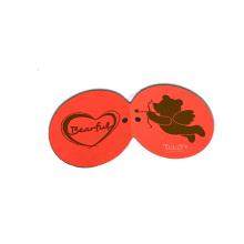 Bijoux de forme ronde étiquettes volantes bricolage