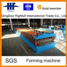 Профилегибочная машина для производства двухслойных стальных рулонов