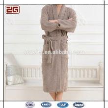 Wholesale Modern Luxury Cotton Fashionable Bathrobe Cheap Kimono Bathrobe