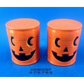 Calabaza Decorativa de Halloween Sal y Pepper Shakers Set