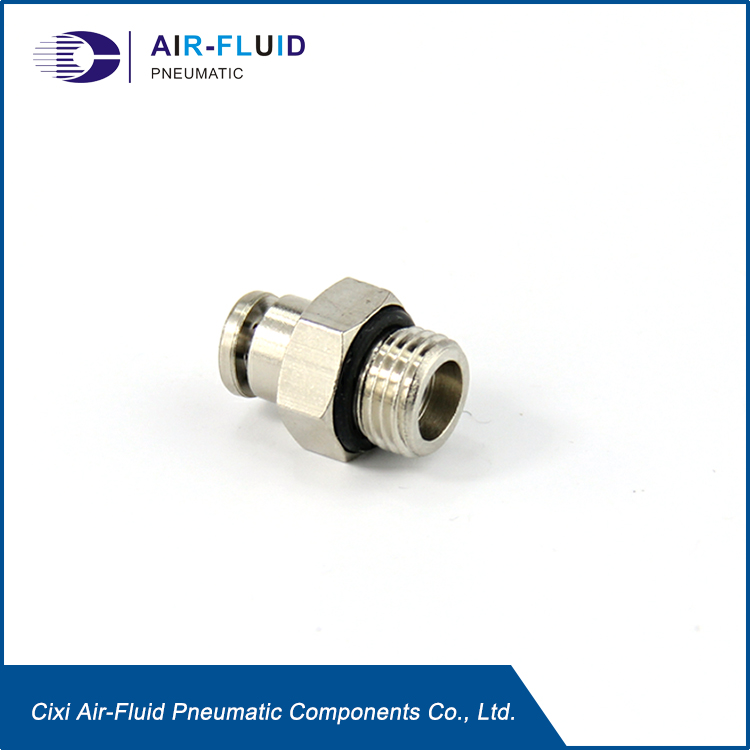 Air-Fluid Quicklinc Tubing Adapter Male Straight