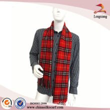 2014 Classic British Cashmere Plaid Scarf For Men
