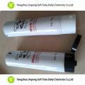 Tubo plegable de aluminio y plástico empaquetado cosmético de aceite de menta