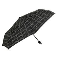 waterproof dot design collapsible rain umbrella