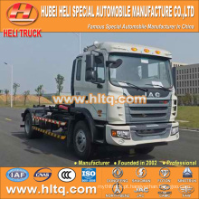 JAC 4X2 10m3 160hp braço de gancho garantia de qualidade direta da fábrica do caminhão de lixo