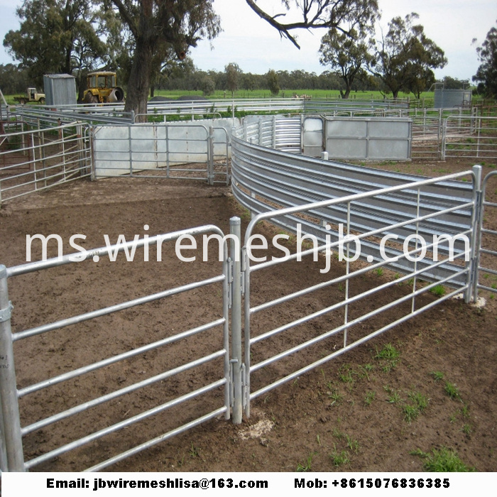 Hot Dipped Galvanized Metal Horse Fence Panel