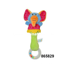 Bebê, elefante, música, chocalho, sino, brinquedo (865829)