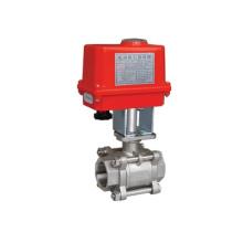 Válvula de bola eléctrica Tianfei para uso general 1/4 '' 1/2 '' 1 '' 1`1 / 2 '' para tratamiento de agua