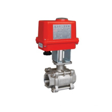 Tianfei electric ball valve for general used 1/4'' 1/2'' 1'' 1`1/2'' for water treatment