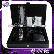 hot sale wholesale professional simple permanent Stainless steel tattoo machine Makeup tattoo kit DIG-004