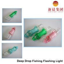 Sob água pesca lanterna
