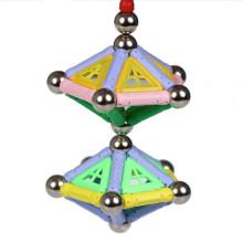Palo magnética DIY juguetes niños bloques 500pcS