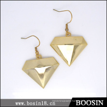 Luxury Diamond Gold Star Earring #21593