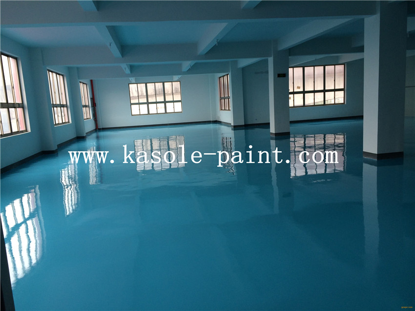 Sky Blue Anti-static Epoxy Topcoat