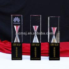 Made in China top qualité nouveau design personnalisé trophée de cristal prix