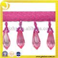 Lucky Fringe ,glass beads fringes , fringe curtain