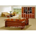Modern striped orange office table solution with extension