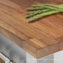 Совместные ироко деревянная доска пальца для мебели
