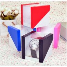 Boîte à montres carrée La boîte à bijoux de réception en gros Spot