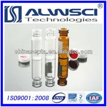 Frascos de impresión hplc de vidrio transparente de 2 ml