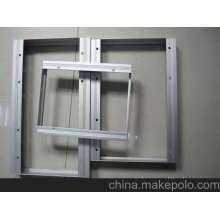Perfiles de aluminio para paneles solares extrudidos