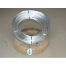 Alambre de acero galvanizado recubierto de zinc brillante