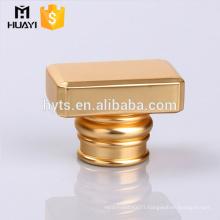 Wholesale gold zamac perfume cap for glass bottle or perfume bottle