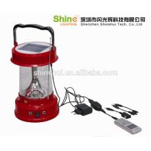 Levou solar lanterna silício policristalino de alta eficiência com carregador de CA