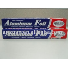 folha de alumínio do agregado familiar para o envolvimento