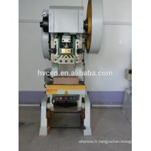 Pressage manuel Pb JB23 100T