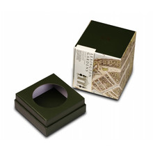 Caja rígida de vela única personalizada