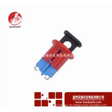 Wenzhou BAODI BDS-D8602 Bloqueo del disyuntor miniatura (clavijas hacia dentro) Color rojo