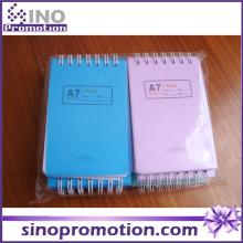 Fashion Cheap Mini Pocket Custom Printed Spiral Notebook
