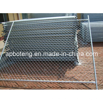 Temporary Wire Fence for Protection