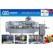 Gas Water Carbonated Drink Filling Machinery Production line