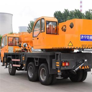10 Years for Mobile Crane 20 Ton Crane Hydraulic Mobile Crane export to Cape Verde Suppliers