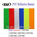 Material de impresión publicitario reflexivo del PVC 500g para la bandera