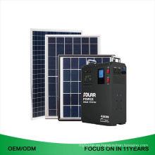 Diseño superior Nueva batería de respaldo Sistema de energía solar industrial completo