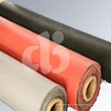 Tissu enroulé en silicone rouge
