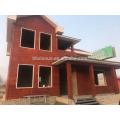 xinnuo light calibre casa de estrutura de aço pré-fabricada casa de estrutura de aço