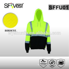Ansi Standard safety Uniforms safety sweatshirt hi vis hoodie traffic safety motorcycle protective clothing
