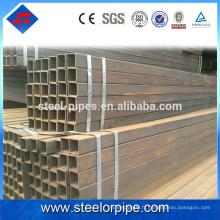 Vente chaude de produits q195 tube carré en acier