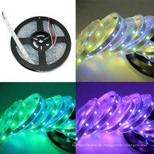 heißer Verkauf LED-Licht-Streifen-Lichter 3.2ft WS2812 1m PWB-Weiß einzeln adressierbarer geführtes Streifen 30 Pixel