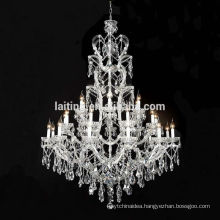Homemade K9 Crystal Table Top Chandelier Centerpieces for Weddings Decoration