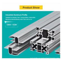 Extrusión de perfil de aluminio 6061 6063 de China
