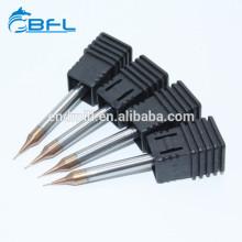 BFL Carbide 2-Nuten-Mikro-Durchmesser-Schaftfräser 0,1 mm-Fräser