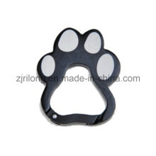 Aluminum Puppy Claw Shape Carabiners Spring Snap Clip Hook