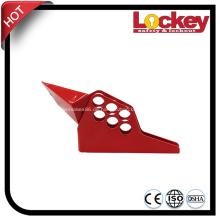 LOCKEY gehärtete Stahl Sicherheits-Kugelhahn-Verschluss-Geräte