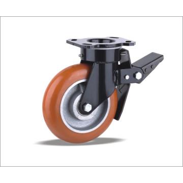 Schwenkrollen mit Polyurethan-Rad